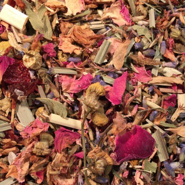 Petal Faster Susie_lymphatic tisane_teapot teas_image