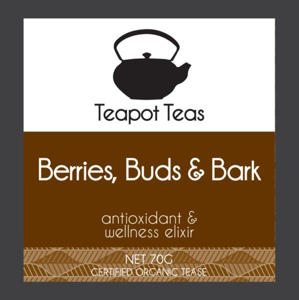 berries,buds and bark_antioxidant and wellness elixir_teapot teas_label