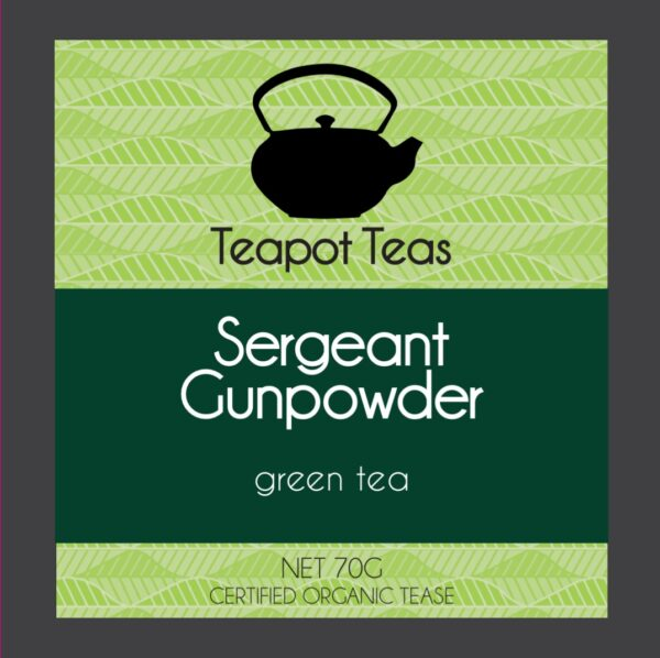 gunpowder green tea by teapot teasl