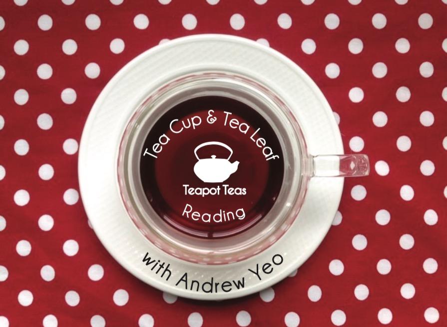 tea leaf Reading with andrew yeo Teapot teas