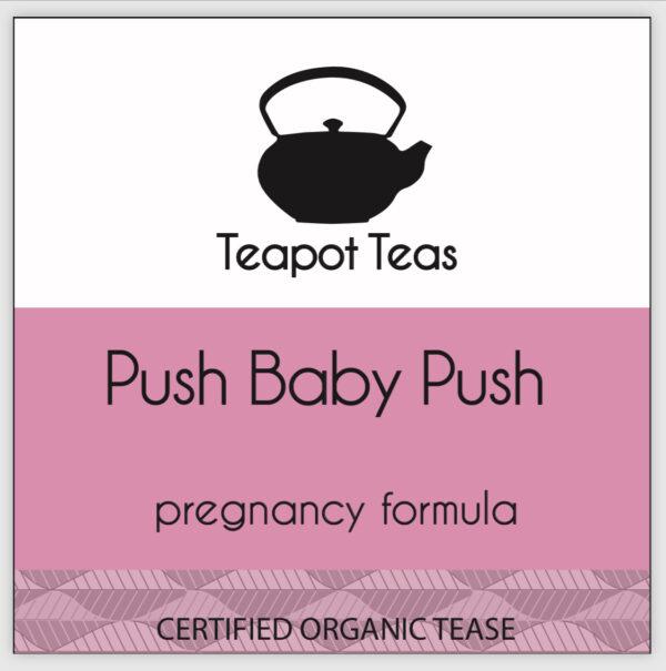 push baby push pregnancy formula label