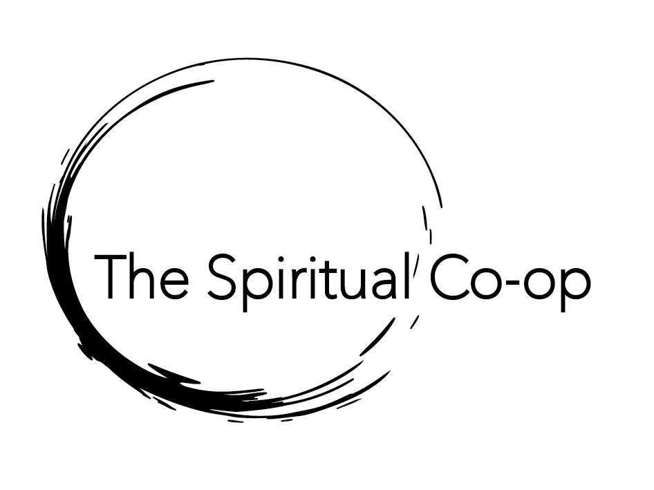 The Spiritual Co-Op emergence logo Black logo
